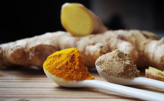 العناصر الغذائية في الكركم, السعرات الحرارية - الكربوهيدرات - العناصر الغذائية في الكركم