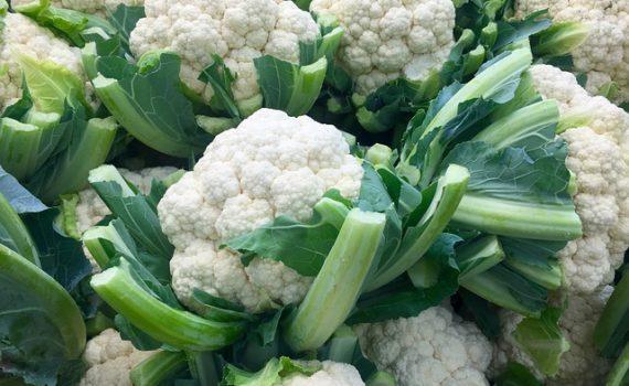 العناصر الغذائية في القرنبيط, السعرات الحرارية - الكربوهيدرات - العناصر الغذائية في القرنبيط