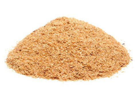العناصر الغذائية في نخالة القمح, السعرات الحرارية - الكربوهيدرات - العناصر الغذائية في نخالة القمح