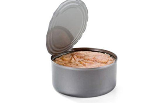 العناصر الغذائية في سمك التونة المعلب في الماء, السعرات الحرارية - الكربوهيدرات - العناصر الغذائية في سمك التونة المعلب في الماء