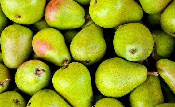 العناصر الغذائية في الاجاص, السعرات الحرارية - الكربوهيدرات - العناصر الغذائية في الكمثرى
