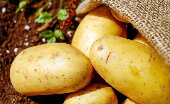 العناصر الغذائية في البطاطا, السعرات الحرارية - الكربوهيدرات - العناصر الغذائية في البطاطا