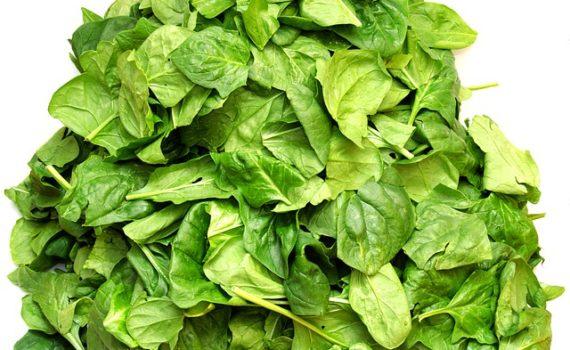 العناصر الغذائية في السبانخ المطهوّة, السعرات الحرارية - الكربوهيدرات - العناصر الغذائية في السبانخ المطهوّة