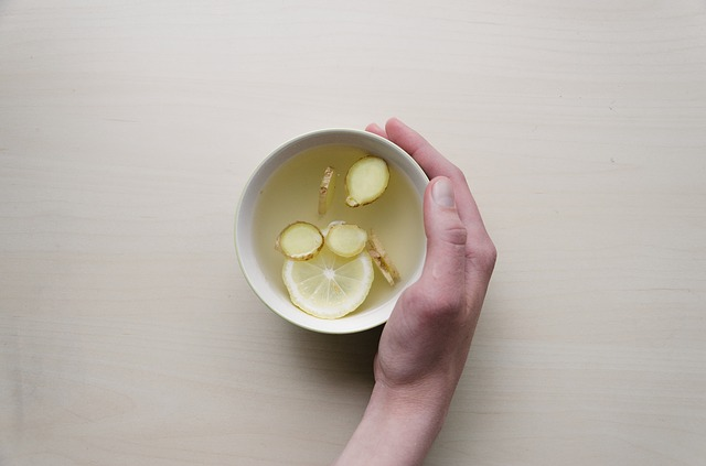طريقة عمل شاي الزنجبيل