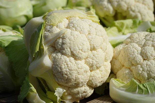 السعرات الحرارية الكربوهيدرات العناصر الغذائية في القرنبيط المطهو