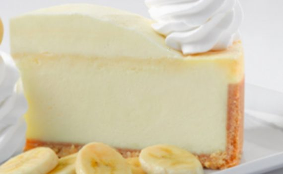 طريقة عمل كعكة الجبنة بالموز