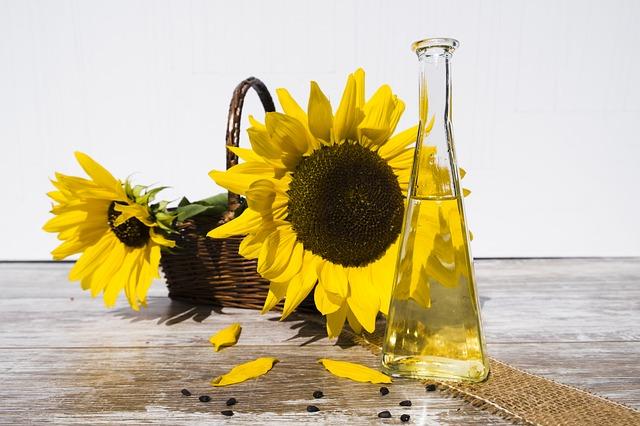 العناصر الغذائية في زيت عباد الشمس, السعرات الحرارية - الكربوهيدرات - العناصر الغذائية في زيت عباد الشمس