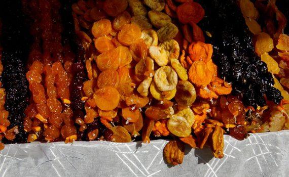 العناصر الغذائية في الخوخ المجفف, السعرات الحرارية - الكربوهيدرات - العناصر الغذائية في الخوخ المجفف
